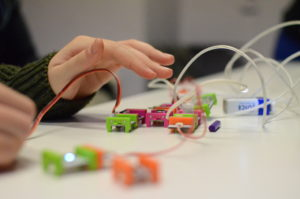 Creation Lab: Intro to Circuitry with littleBits @ Freeman Storytime Room
