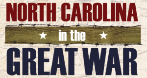 Display - North Carolina in the Great War @ 2nd floor of the Library